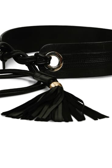 Giselle leather belt - One Size
