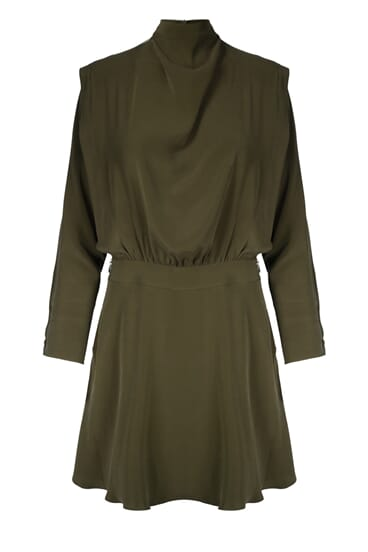 Nova bronze green dress